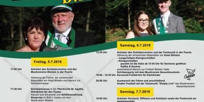 Teilnahme am Schützenzug in Bilstein, 07.07.2019